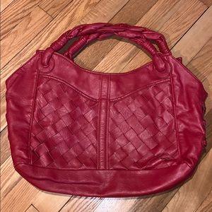 Big Buddha red purse
